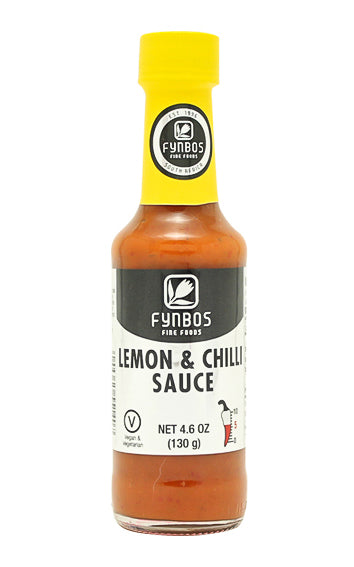 Fynbos Lemon & Chilli (Heat 5/10) 125ml