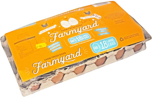 Farmyard Large Eggs 18 Pack