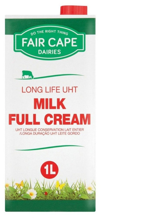 Fair Cape Long Life Milk Full Cream 1L