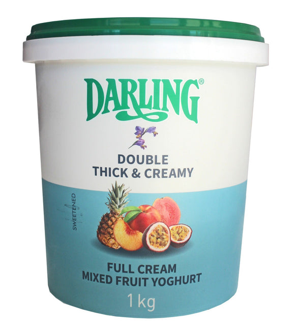 Mixed Fruit Full Cream Yoghurt 1kg