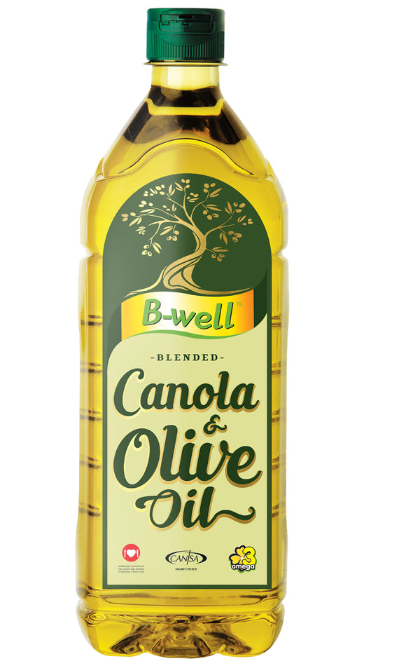 B-well Canola & Olive Oil Blend 1L