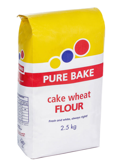 Pure Bake Cake Wheat Flour 2.5kg