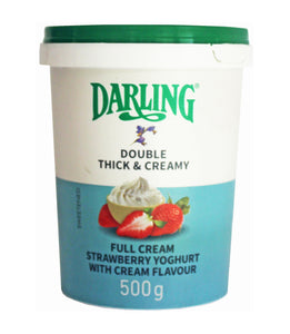 Strawberry Full Cream Yoghurt 500g