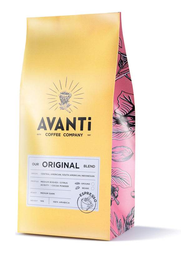 Avanti Coffee - Original Blend 250g Beans