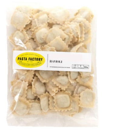 Pasta Factory Three Cheese Ravioli Frozen 500g