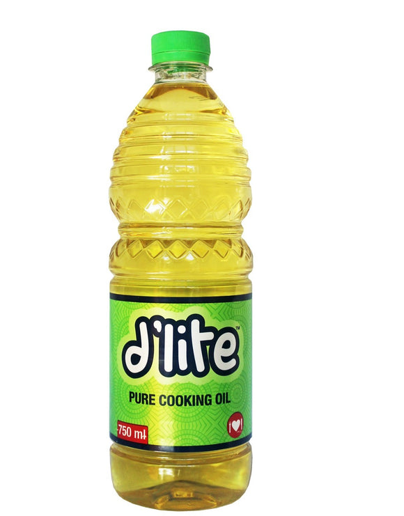 d'lite Pure Cooking Oil 750ml