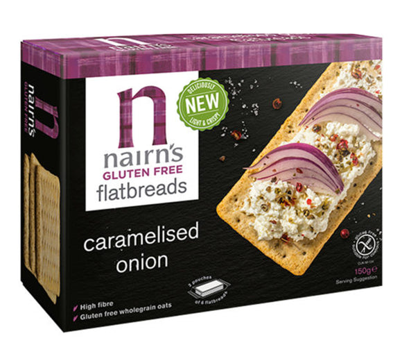Nairn's Gluten-free Caramelised Onion Flatbread 150g