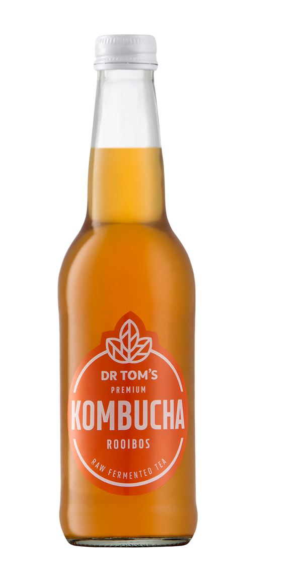 Dr Tom's Kombucha Rooibos 340ml