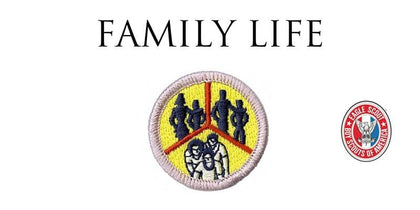 Family Life Merit Badge Online (Bay Area & SHAC Scouts)