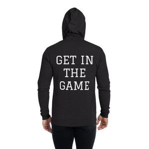 GET IN THE GAME Unisex zip hoodie