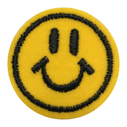 Smiley Face Iron-On Embellishment