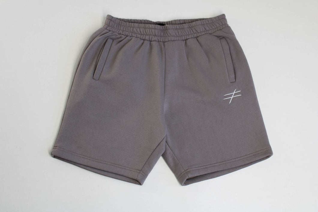 Pascommelesautres Shorts - jogger taupe