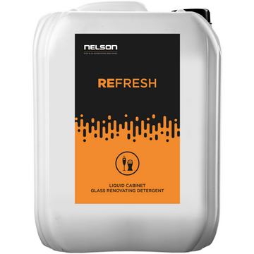 Glass Renovating Detergent - Refresh x 4 Units - Nelson Dish & Glasswashing Machines