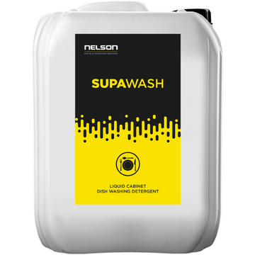 Commercial Dishwasher Detergent - Supawash x 4 Units - Nelson Dish & Glasswashing Machines