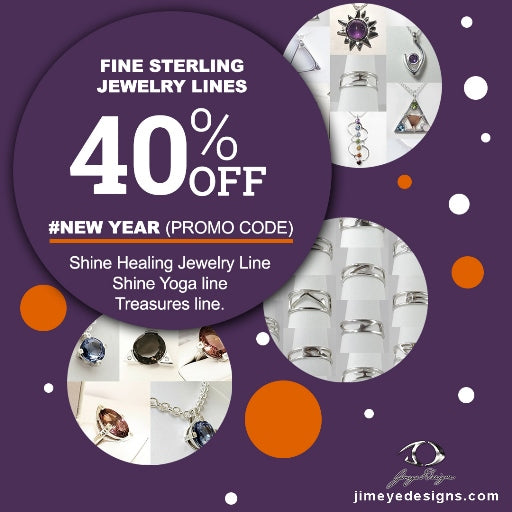 Incredible 40% OFF of any fine sterling jewelry lines/ January 16-23 only