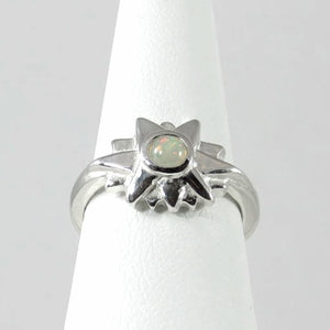 Starburst Ring with Moonstone
