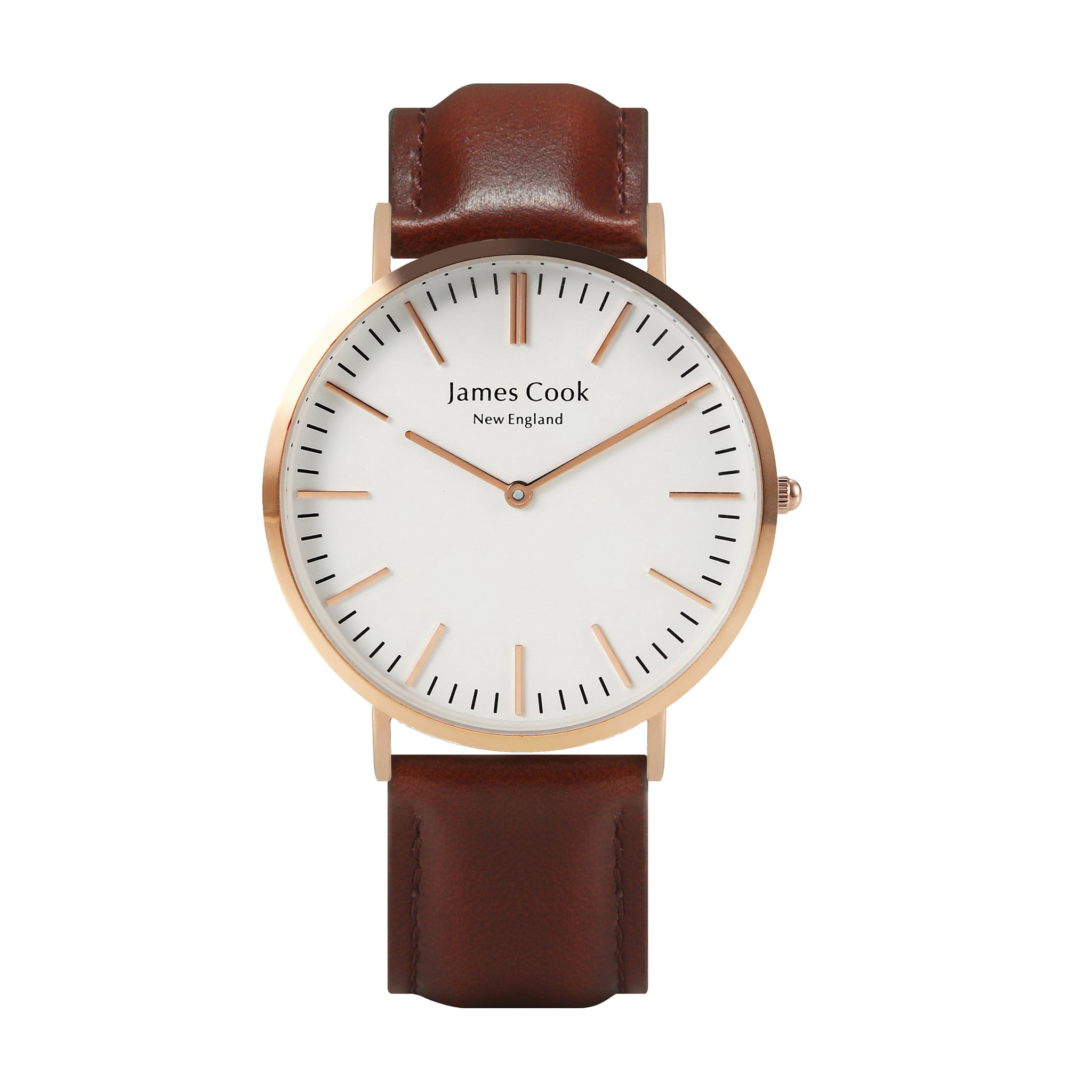 Heritage Cambridge Masculino Rosé Gold 40mm