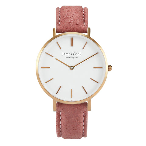 Heritage Piñatex Blush Feminino Rosé Gold 32mm