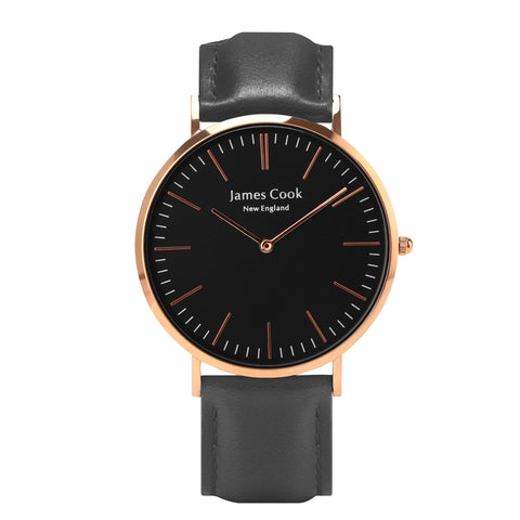 Heritage Black Hartford Masculino Rosé Gold 40mm
