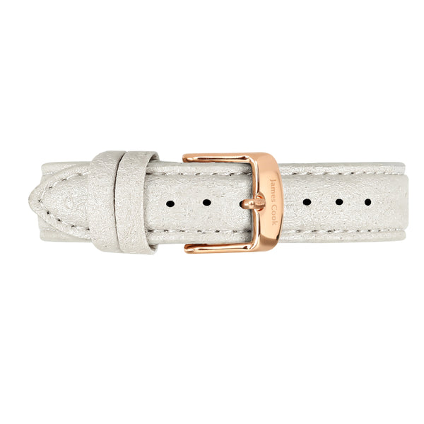 Bay Piñatex Pearl Feminino Rosé Gold 32mm