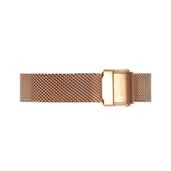 Heritage Black Newport Feminino Rosé Gold 32mm