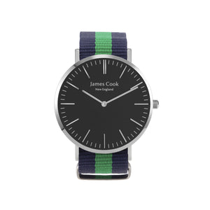 Heritage Black Manchester Masculino 40mm