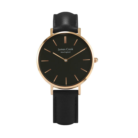 Heritage Black Hartford Feminino Rosé Gold 32mm