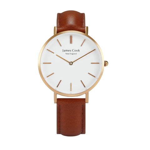 Heritage Cambridge Feminino Rosé Gold 32mm