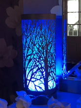 Load image into Gallery viewer, Electric Wax Burner -  Colour Changing LED Aroma Lamp, Silver