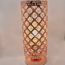 Load image into Gallery viewer, Electric Wax Burner - Rose Gold Jewelled Burner - Olfactory Candles