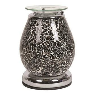 Electric Wax Melt Burner - Black Mosaic Touch - Olfactory Candles