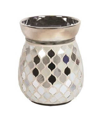 Electric Wax Melt Burner - Pearl & Silver - Olfactory Candles