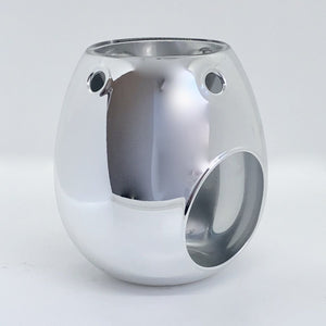 Wax Melt Burner - Silver - Olfactory Candles