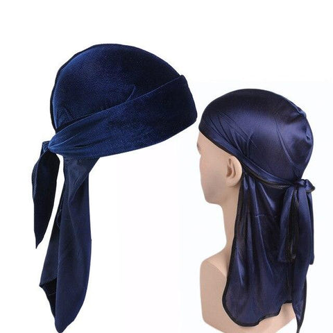 Black and navy blue durag pack - Durag-Shop