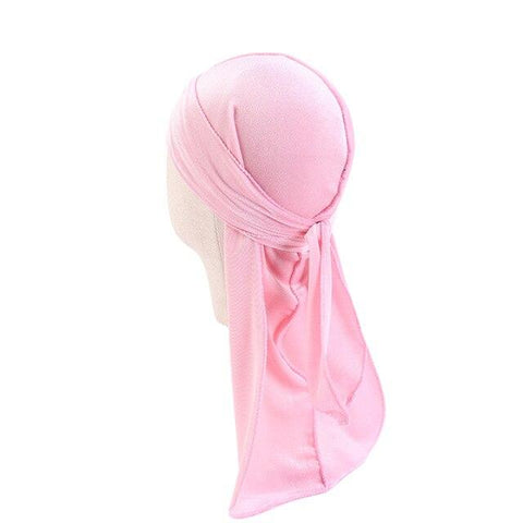 Pink velvet durag children - Durag-Shop