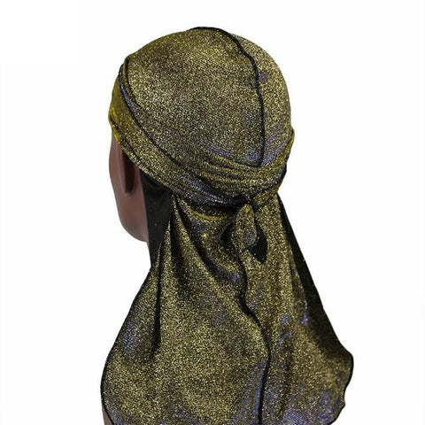 Durag jaune brillant - Durag-Shop