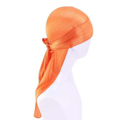 Durag orange satin - Durag-Shop