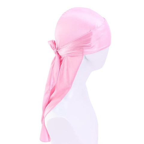 Durag rose satin - Durag-Shop