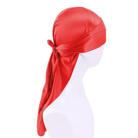 Durag rouge satin - Durag-Shop