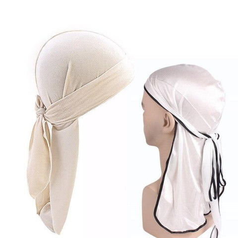 Lot durag blanc et noir - Durag-Shop