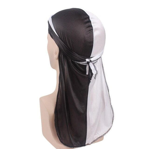 Black and white durag - Durag-Shop