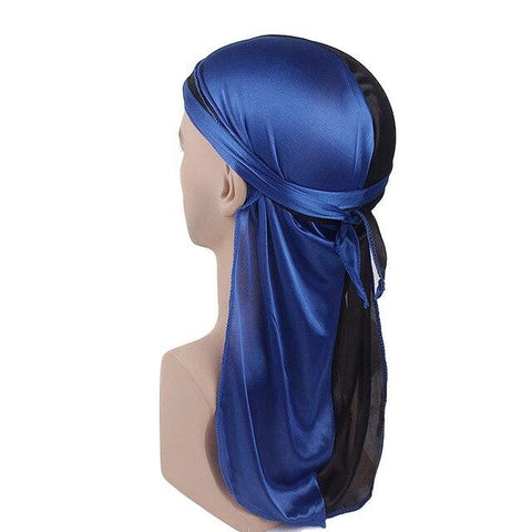 Blue and black durag - Durag-Shop