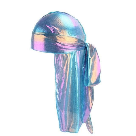 Blue durag fluorescent - Durag-Shop