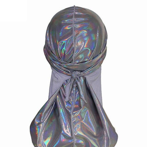 Dark grey fluorescent durag - Durag-Shop