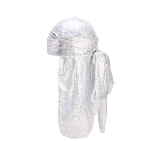 White fluorescent durag - Durag-Shop