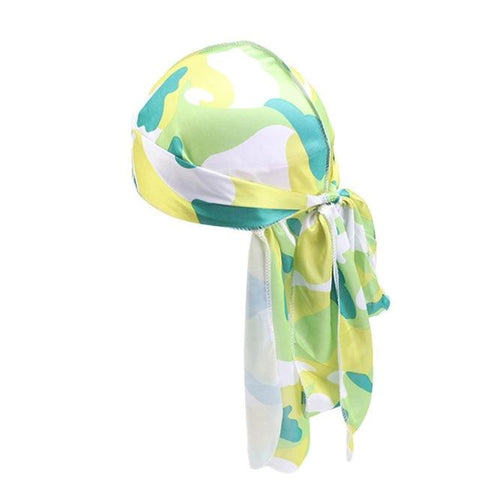Durag with green camouflage - Durag-Shop