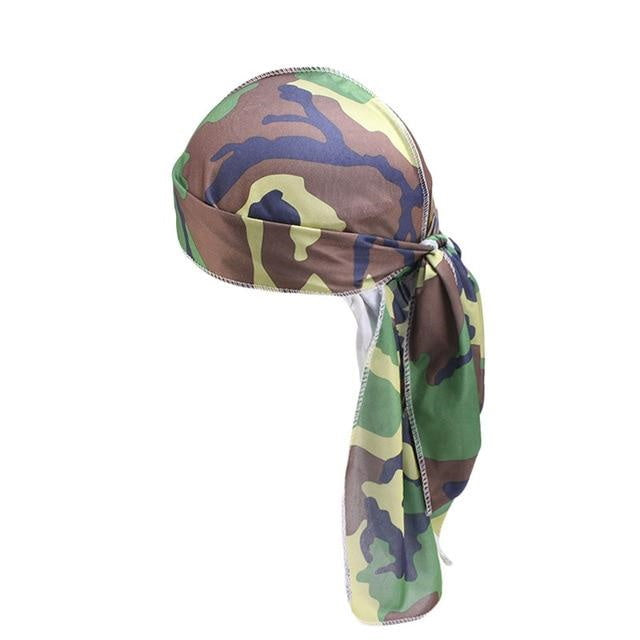 Durag with military camouflage - Durag-Shop