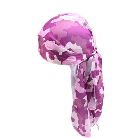 Durag with purple camouflage - Durag-Shop