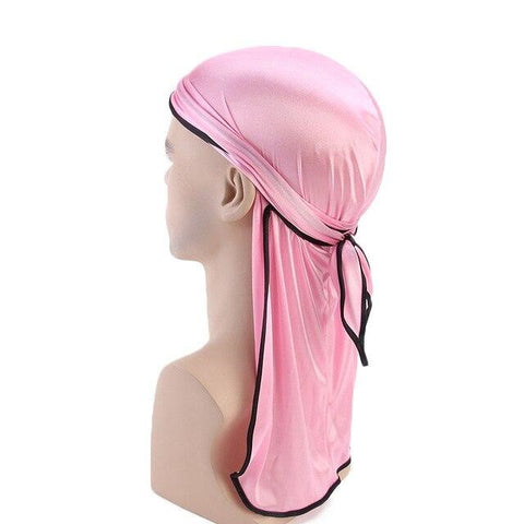 Light pink durag black borders - Durag-Shop