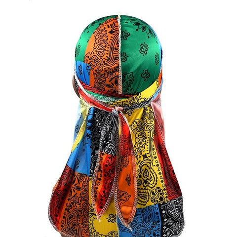 Multicolored durag bandana - Durag-Shop